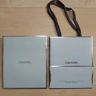 トムフォード(TOM FORD)のトムフォード 紙袋 2枚(ショップ袋)