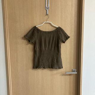 ミスティック(mystic)のmystic ギャザーフリルTシャツ(Tシャツ(半袖/袖なし))