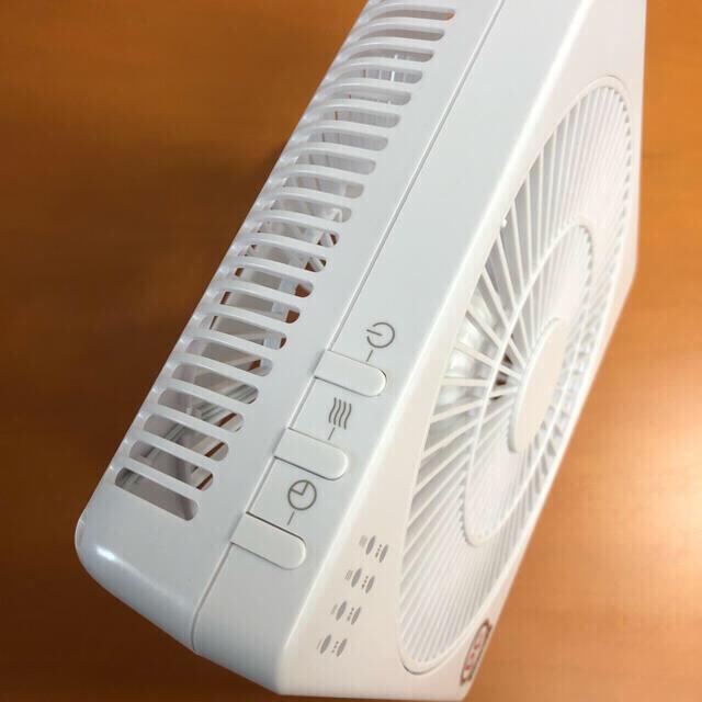 山善(ヤマゼン)のYAMAZEN ボックス扇風機 どこでもFAN DCモーター スマホ/家電/カメラの冷暖房/空調(扇風機)の商品写真