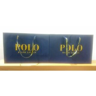 ポロラルフローレン(POLO RALPH LAUREN)のポロラルフローレン ショップ袋 ショッパー 大(ショップ袋)