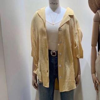 シールームリン(SeaRoomlynn)のSeaRoomlynn☆エアリーハーフスリーブシャツ(シャツ/ブラウス(半袖/袖なし))