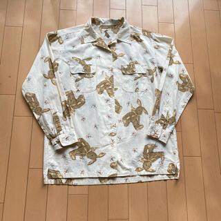 ピンクハウス(PINK HOUSE)のピンクハウス ウサギ柄長袖シャツ アイボリー(Tシャツ(長袖/七分))