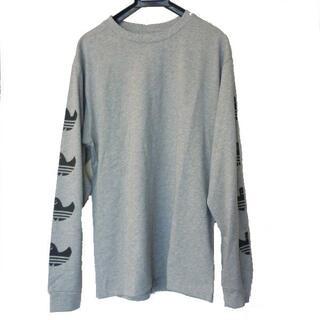 アディダス(adidas)の新品◆(O)(XL)アディダスオリジナルス グレーシュムーフォイルロゴロンT(Tシャツ/カットソー(七分/長袖))