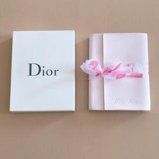 ディオール(Dior)の【新品】クリスチャンディオール ミスディオール 手帳 ノート(ノート/メモ帳/ふせん)