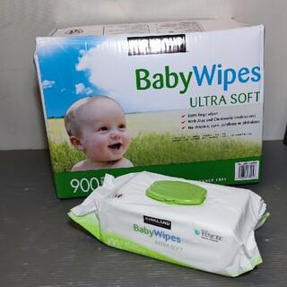 コストコ(コストコ)のカークランドおしりふき「BabyWipes」無香料タイプ     (ベビーおしりふき)