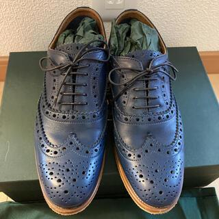 チャーチ(Church's)のchurch's Laced Shoeダークブルー36(ローファー/革靴)