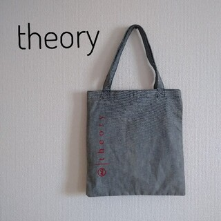 セオリー(theory)の【非売品】セオリー トートバッグ デニム(トートバッグ)