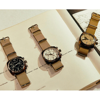 ユナイテッドアローズ(UNITED ARROWS)のブリストン briston クロノグラフ 腕時計(腕時計)