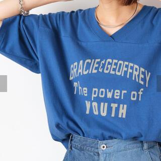 チャオパニックティピー(CIAOPANIC TYPY)のCIAOPANIC TYPY Vネック Tシャツ(Tシャツ(半袖/袖なし))