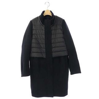 ダブルスタンダードクロージング(DOUBLE STANDARD CLOTHING)のダブルスタンダードクロージング ダブスタ ウール 切り替え コート 36 黒(その他)