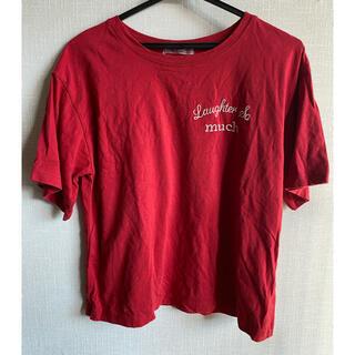 ナイスクラップ(NICE CLAUP)のNICE CLAUP Tシャツ 赤 半袖(Tシャツ(半袖/袖なし))