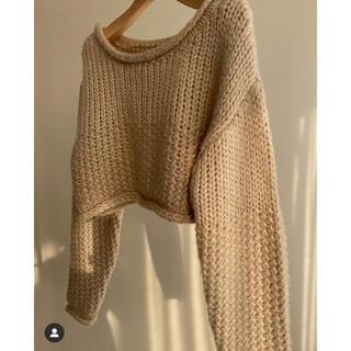 トゥデイフル(TODAYFUL)のlouren♡basket short knit(ニット/セーター)
