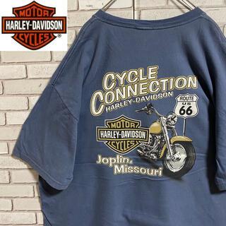 ハーレーダビッドソン(Harley Davidson)の90s 古着 ハーレーダビッドソン 2XL バックプリント ビッグシルエット(Tシャツ/カットソー(半袖/袖なし))