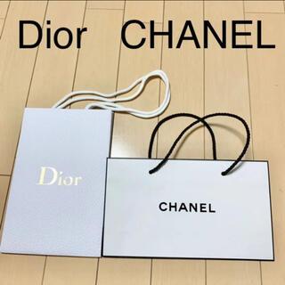 ディオール(Dior)のDior ディオール ショップ袋 CHANEL シャネル ショッパー 紙袋(ショップ袋)