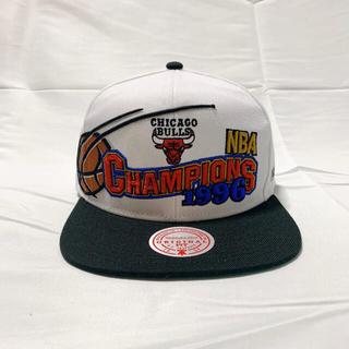 【新品未使用】ミッチェルアンドネス - ブルズ 1996チャンピオンズ キャップ