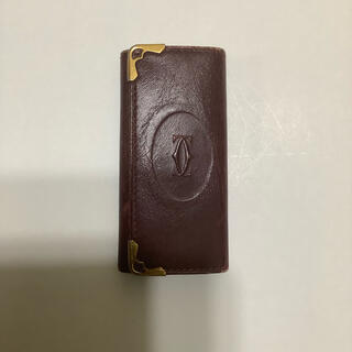 Cartier - カルティエ Cartierキーケース えんじ ワインレッド