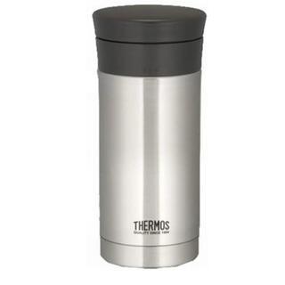 サーモス(THERMOS)の【THERMOS】真空断熱ケータイマグ ステンレスブラック(水筒)