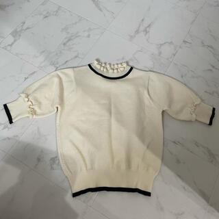 ダズリン(dazzlin)のdazzlin ニット Tシャツ(Tシャツ(半袖/袖なし))