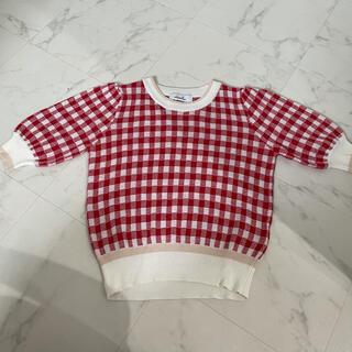 ダズリン(dazzlin)のdazzlin ギンガムチェック Tシャツ(Tシャツ(半袖/袖なし))