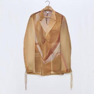 サンシー(SUNSEA)のmasu 21ss グラスジャケット(テーラードジャケット)