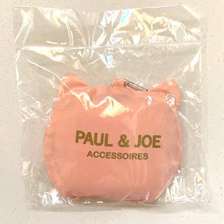 ポールアンドジョー(PAUL & JOE)の★ポール アンド ジョー★猫 ネコ ねこ キャット ピンク エコバッグ 新品(エコバッグ)