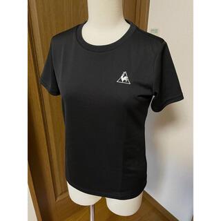 ルコックスポルティフ(le coq sportif)のルコック lecoqsportif ワンポイント Tシャツ 黒 S(ウェア)
