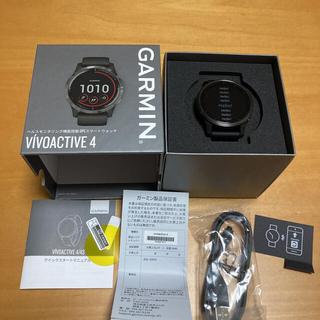 ガーミン(GARMIN)のガーミン vivoactive4 超美品 (トレーニング用品)