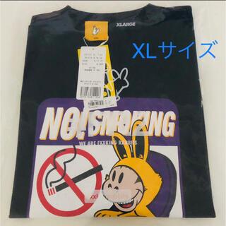 エクストララージ(XLARGE)のXLARGE FR2 NO SMOKING Tシャツ 黒 XLサイズ(Tシャツ/カットソー(半袖/袖なし))