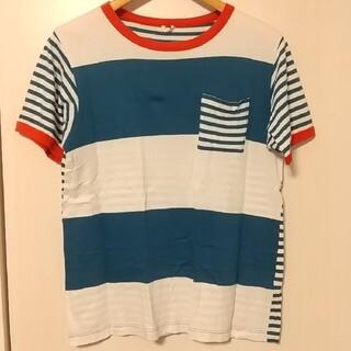 ボヘミアンズ(Bohemians)のボヘミアンズ ボーダー切り替えTシャツ(Tシャツ/カットソー(半袖/袖なし))