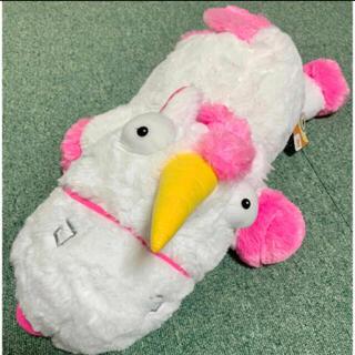 ミニオン(ミニオン)のミニオン ユニコーン 大きなぬいぐるみ 大きいので抱き枕にもピッタリ🦄(ぬいぐるみ)