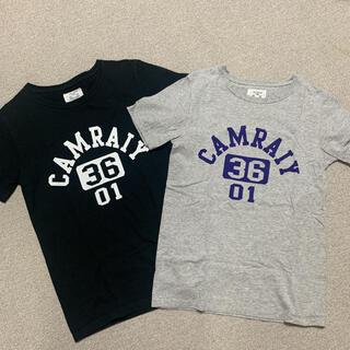 フレームワーク(FRAMeWORK)の2枚セット ◆アメリカンコットン ロゴ Tシャツ (Tシャツ(半袖/袖なし))
