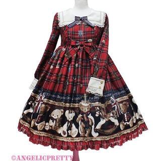 アンジェリックプリティー(Angelic Pretty)のAngelic Pretty British Bear ワンピース(ミニワンピース)