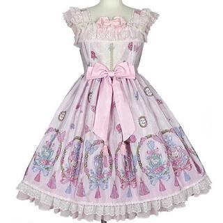 アンジェリックプリティー(Angelic Pretty)のAngelic Pretty Romantic Perfumeジャンパースカート(ミニワンピース)
