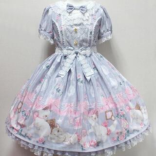 アンジェリックプリティー(Angelic Pretty)のAngelic Pretty Romantic Cat ワンピース(ミニワンピース)