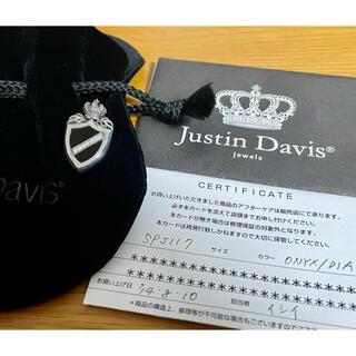 ジャスティンデイビス(Justin Davis)のJustin Davis シールドダイヤモンドペンダント SPJ117(ネックレス)