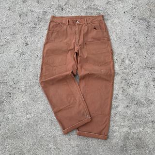 マスターピース(master-piece)のMASTER PIECE ダック地 Double knee pants セール中(ペインターパンツ)