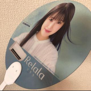 福本莉子 mini団扇(ノベルティグッズ)