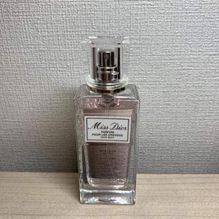 クリスチャンディオール(Christian Dior)のミス ディオール ヘア ミスト 30ml 美品(ヘアウォーター/ヘアミスト)