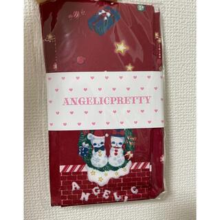 アンジェリックプリティー(Angelic Pretty)のangelic pretty fancy noel タイツ アカ(靴下/タイツ)
