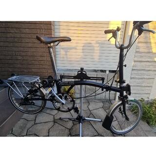 ブロンプトン(BROMPTON)の特価!brompton ブロンプトン M3R プチカスタム 現状品(自転車本体)
