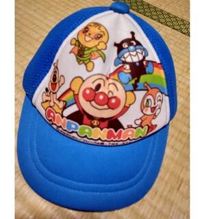 アンパンマン(アンパンマン)の48cm アンパンマン 帽子 サイズ調整可能 青(帽子)