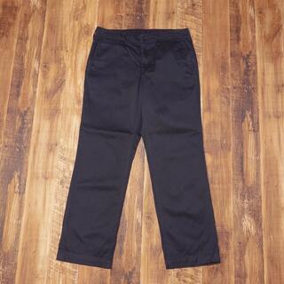 ムジルシリョウヒン(MUJI (無印良品))の無印良品 チノパン 82×85 Lサイズ メンズ パンツ 黒 ブラック KJ31(チノパン)