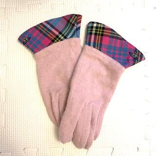 ヴィヴィアンウエストウッド(Vivienne Westwood)のVivienne Westwood ブルーマック 手袋(手袋)