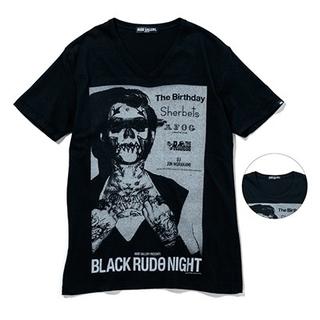 ルードギャラリー(RUDE GALLERY)の未使用品 ルードギャラリー/BLACK RUDO NIGHT TEEチバユウスケ(Tシャツ/カットソー(半袖/袖なし))