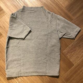 エンフォルド(ENFOLD)の【TONAL】ボトルネックTシャツ(Tシャツ(半袖/袖なし))