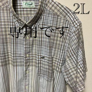 クロコダイル(Crocodile)のクロコダイル 半袖シャツ 2L(シャツ)
