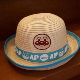 アンパンマン(アンパンマン)のアンパンマン 麦わら帽子 サイズ48㎝(帽子)
