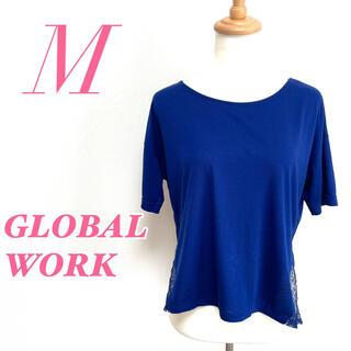 グローバルワーク(GLOBAL WORK)のGLOBAL WORK グローバルワーク 半袖トップス レース カジュアル(カットソー(半袖/袖なし))