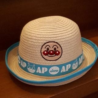アンパンマン(アンパンマン)のアンパンマン 麦わら帽子 サイズ50㎝(帽子)