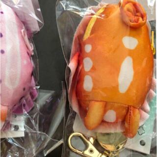 フェリシモ(FELISSIMO)のバーマン様専用 ウミウシ キーポーチ オレンジ(キーホルダー)